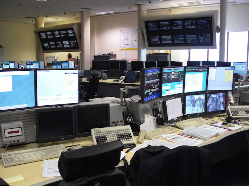 Central Line Signalling Control Systems