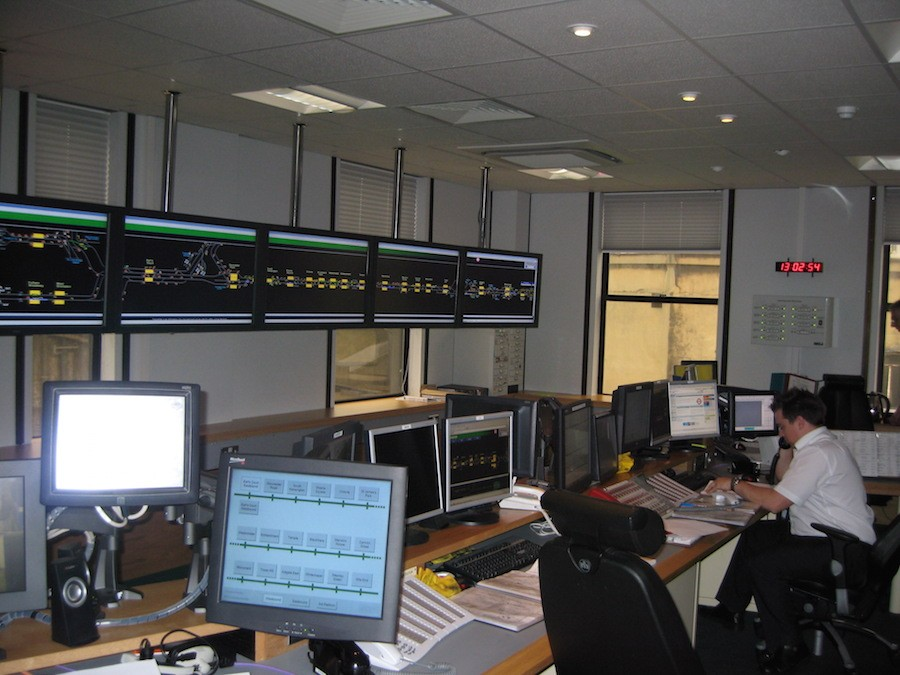District Line Control Room
