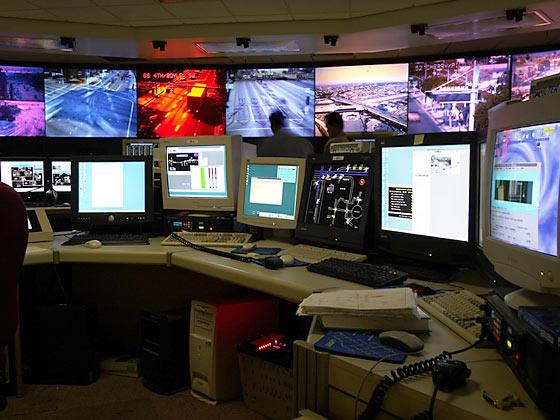 Metropolitan Line Service Control Room