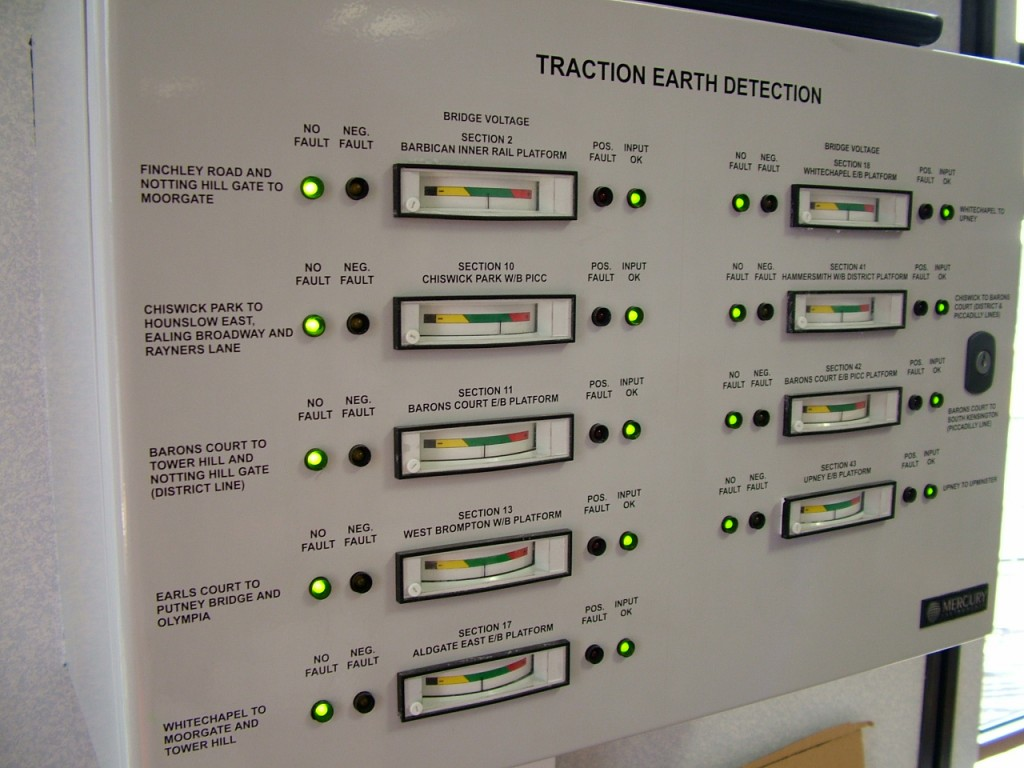 Traction Discharge Monitoring System