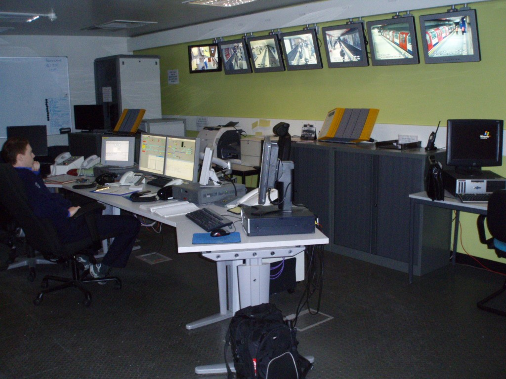 Waterloo & City Line Control Room